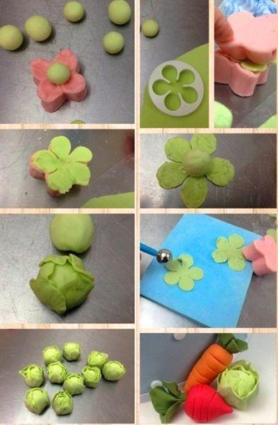 Овощи из пластилина - Сайт для мам малышей
