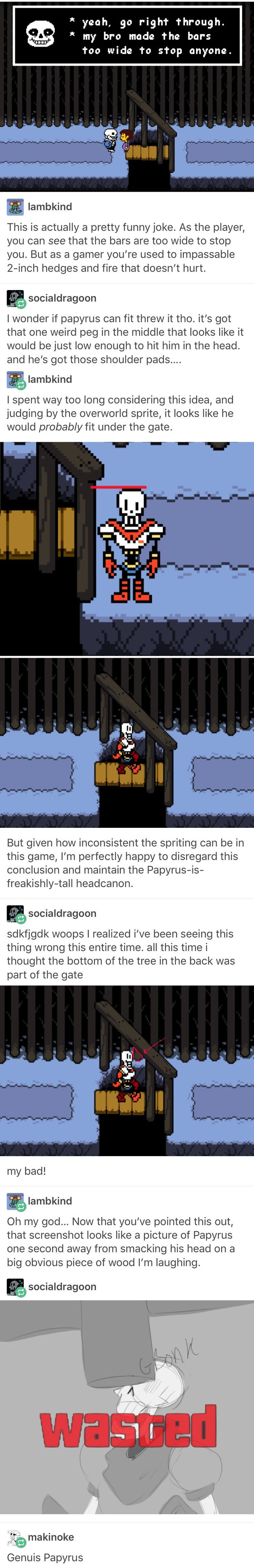 Undertale, Sans, Papyrus, Tumblr, Funny, Video Games