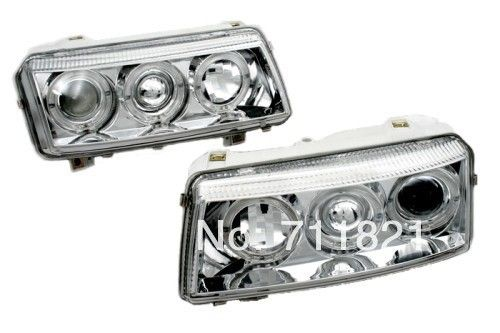 229.99$  Watch here - http://aliqcc.worldwells.pw/go.php?t=1788167027 - Projector Angel Eye Head Light For VW Passat B4 229.99$