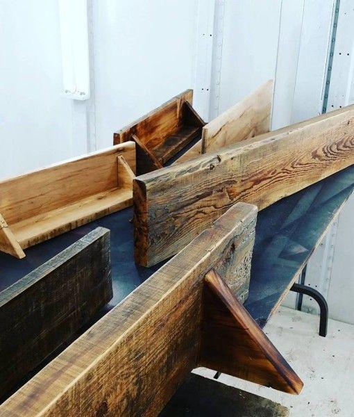 Mur Bois De Grange Installation : mod?les de tablettes d?coratives en bois de grange, pi?ces de