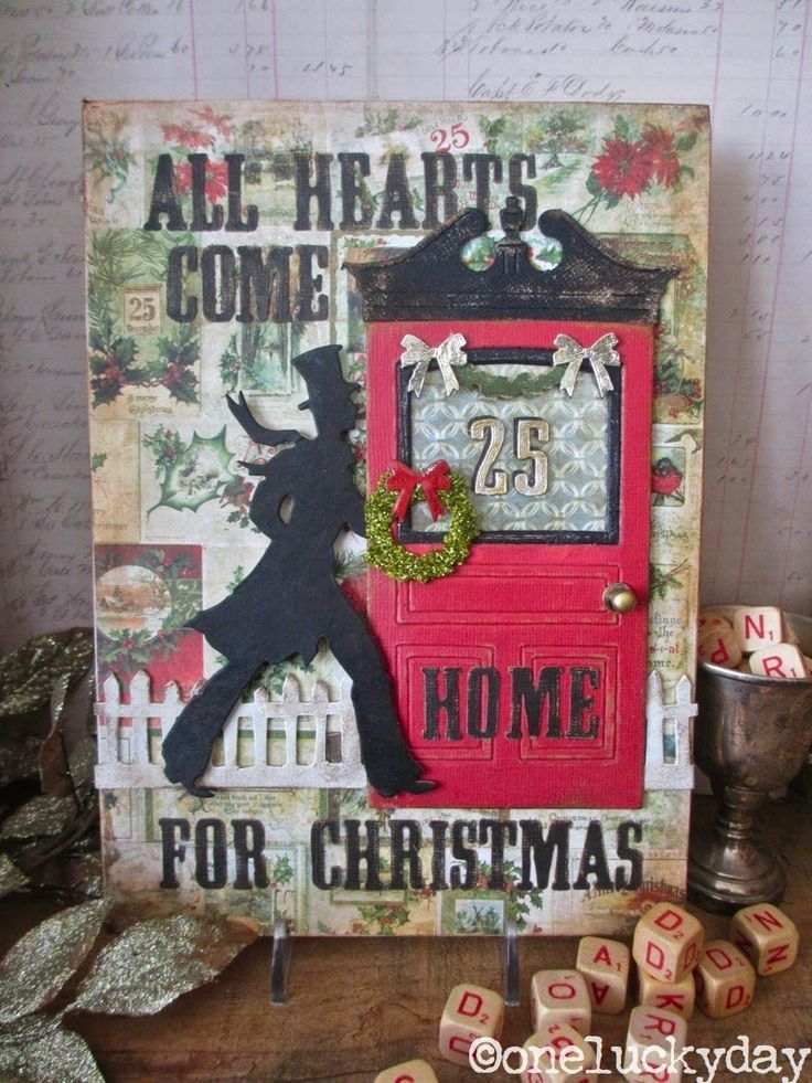 2802 best christmas greeting cards images on pinterest