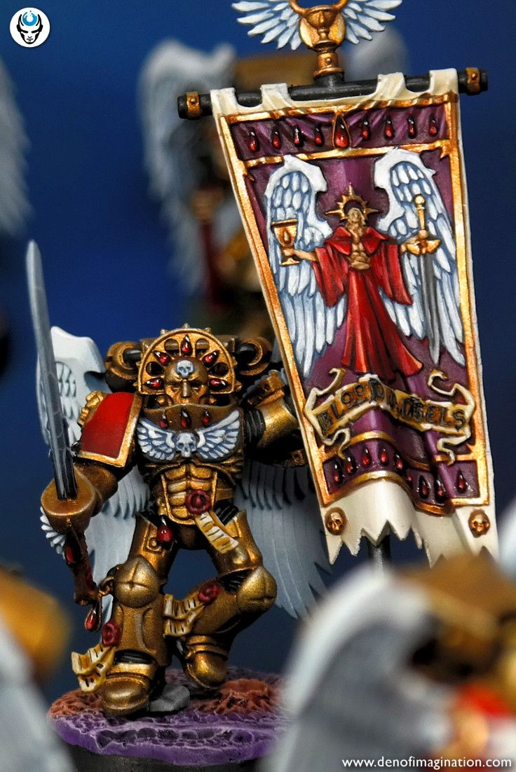 Blood Angels | Warhammer 40k | Miniature painting service