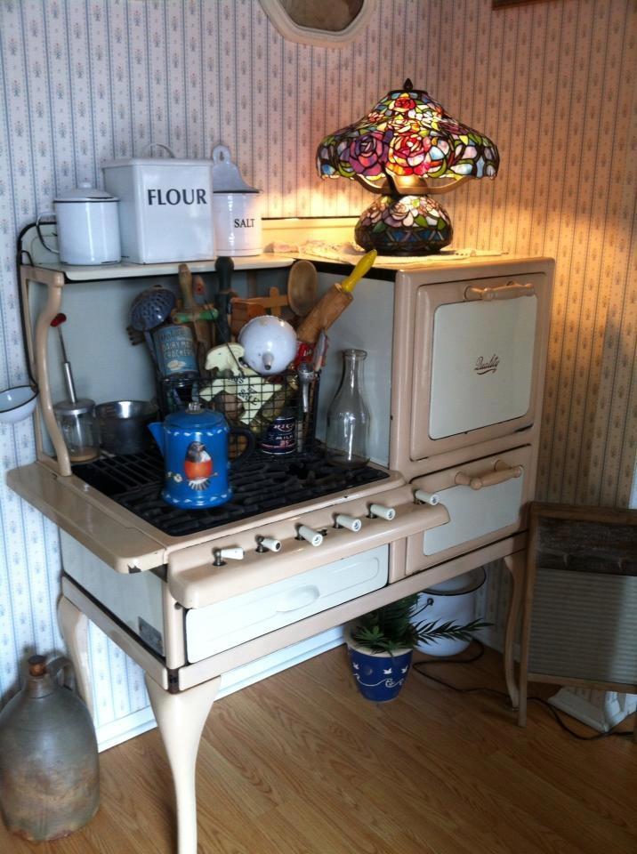 beautiful old stove