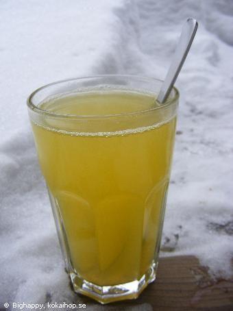 Recept - Apelsindrink med kardemumma