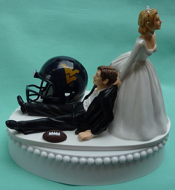 wedding cake supports wedding cake topper west virginia mountaineers 25851
