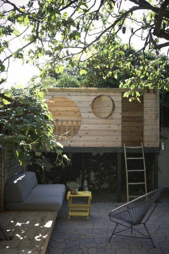 17 best ideas about kinder spielhaus on pinterest. Black Bedroom Furniture Sets. Home Design Ideas