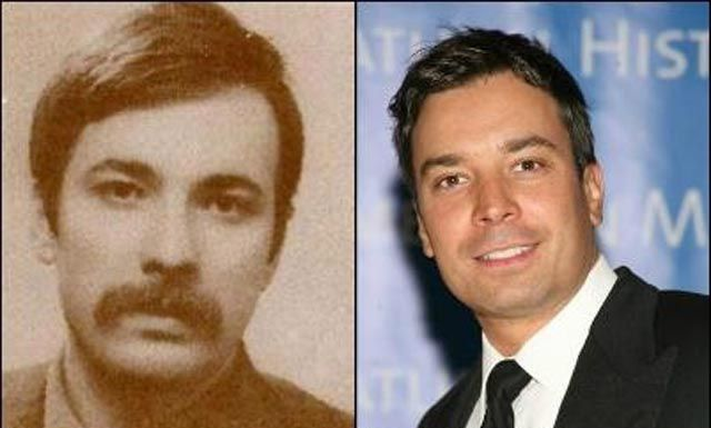 Celebrities and their incredible look alikes from the past.