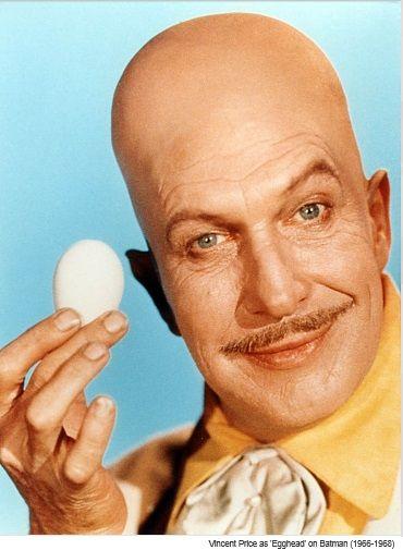 batman - seriado tv - vincent price - cabeça de ovo