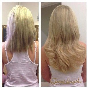 67 best transformations with great lengths images on pinterest beautiful blonde long thick wavy hair created using great lengths hair extensions pmusecretfo Choice Image