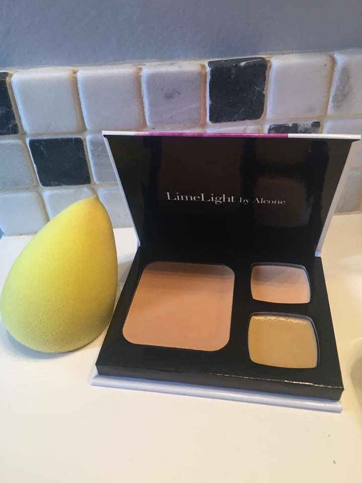 Build your foundation palette with one foundation and two concealers! LimeLight by Alcone, www.joeeflaningan.com