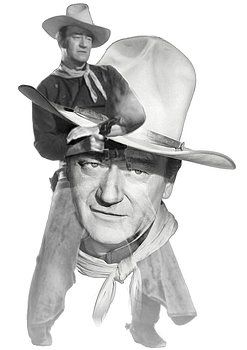 Nostalgic Art - The Duke John Wayne