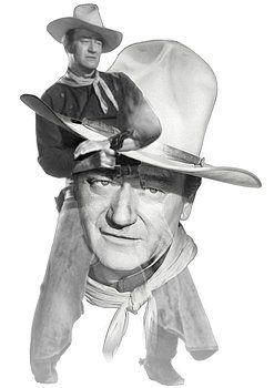 Nostalgic Art - The Duke John Wayne