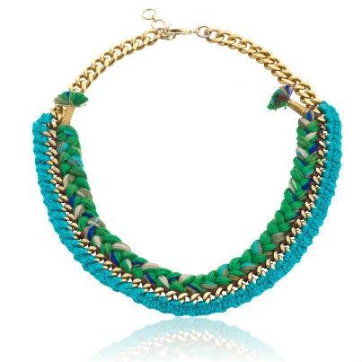Bambara Turq NecklaceRs 875http://www.juvalia.in/collection/tribal-trip/bambara-turq-necklace.html?utm_source=Pinterest_medium=BambaraTurqNecklace_campaign=Sales2013