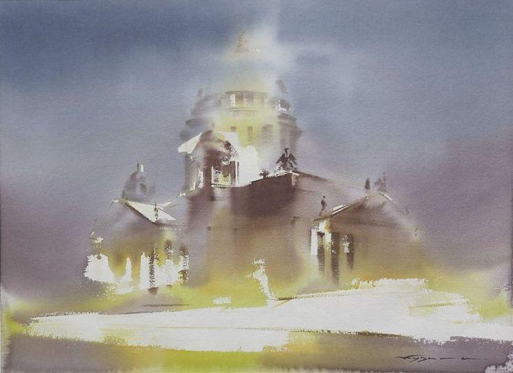 Art Of Watercolor: Konstantin Kuzema