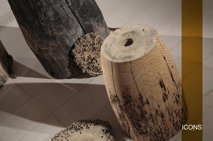 The #special #wood of our first #collection. We reveal the #secret, we used is #Oak #wood of #briccola of #Venice! / Il #legno #speciale della nostra prima #collezione. Vi sveliamo il #segreto, il legno è un #rovere di #briccola di #Venezia! #iconsfurniture