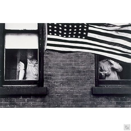 Parade—Hoboken, New Jersey - Robert Frank.