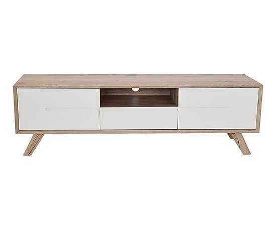 free meuble tv yasmin blanc et naturel l with commode weng ikea - Meuble Tv Vintage Ikea