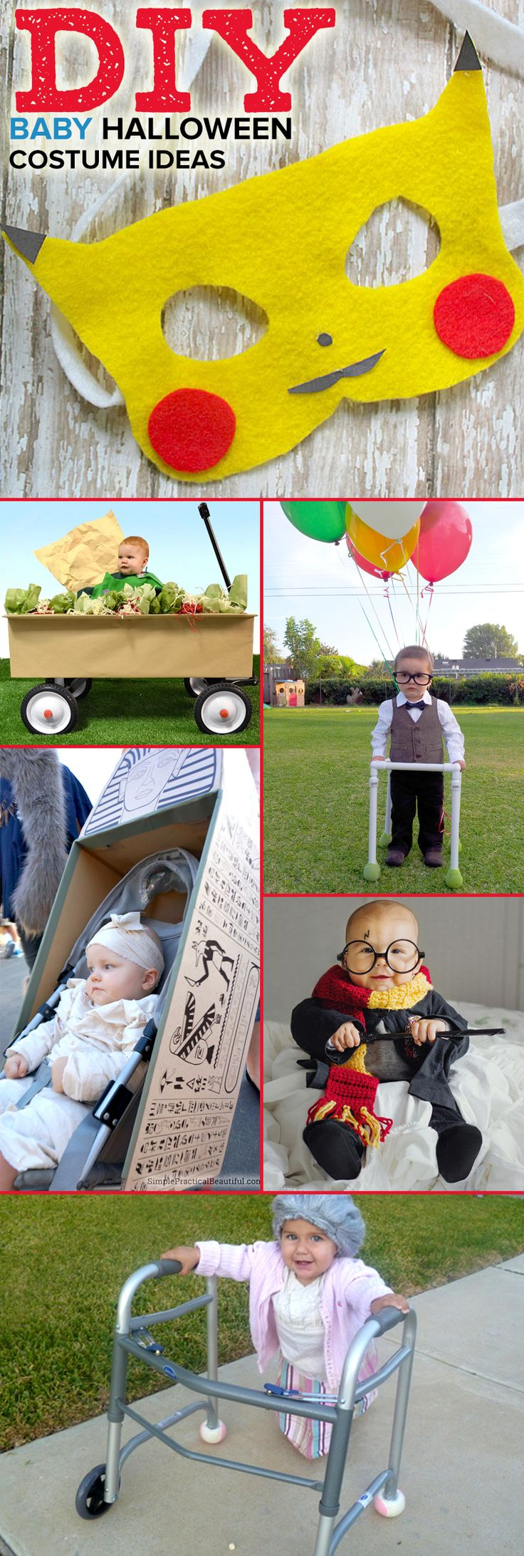 336 best diy halloween costumes images on pinterest family holiday create a funny and clever diy halloween costume for your baby boy or girl with one solutioingenieria Image collections