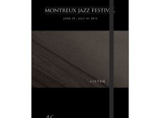 Moleskine Montreux Jazz Festival 2012  Artwork Greg Gorman