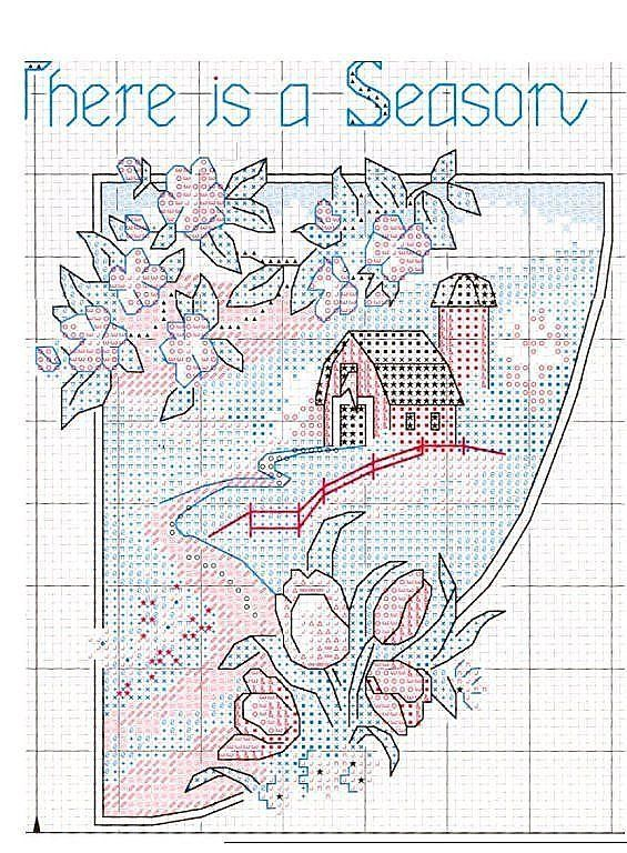 17 mejores imágenes sobre cross stitch en Pinterest   Temporadas ...