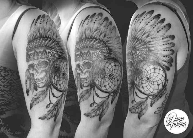 17 meilleures id es propos de cr ne indien sur pinterest tatouage de cr ne indien tatouage - Tatouage crane indien ...