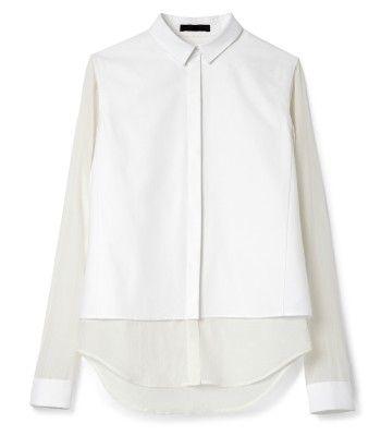 Minimalist dress shirt: