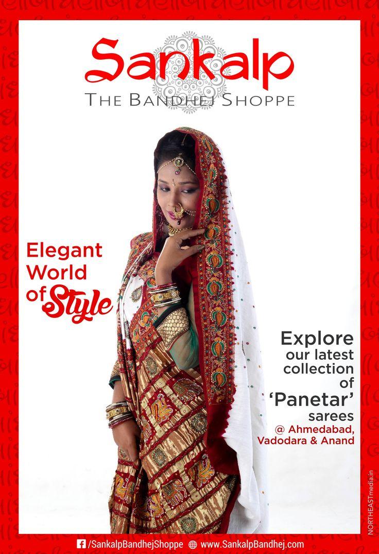 Traditional Panetar  For more details call/whatsapp-91-9377399299  #sankalpthebandhejshoppe #bandhani #bandhej #tie&dye #panetar #designersaree