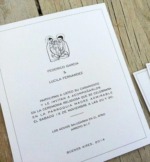 Las #invitaciones de #casamiento clásicas de siempre ..también en INTHESKY.COM.AR