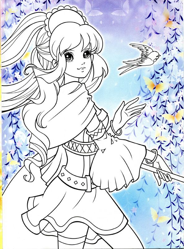 The 286 Best Korean Anime Girl Coloring Book Images On Pinterest