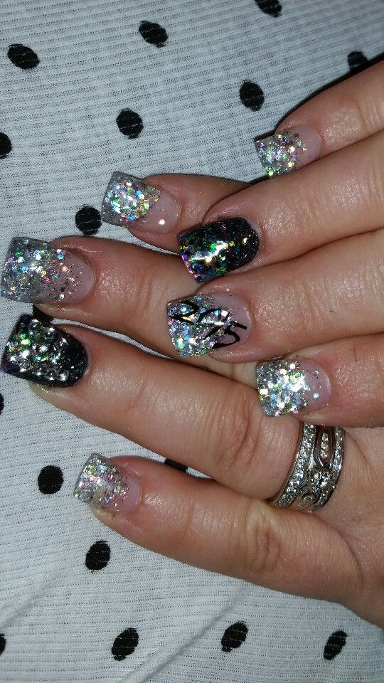 New years nails 2015