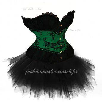 Classic Generous Party Beam Waist Green Corset Bustier Tops Dress On Sales [Green Corset Bustier Tops Dress] - $40.00 : Fashion Bustier Corset Tops Dress Sale, Up 50% Off