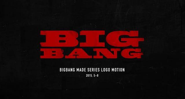 2015 BIGBANG MADE Series Logomotion  - LOSER - BAEBAE - BANG BANG BANG - WE LIKE 2 PARTY - 맨정신 - 우리 사랑하지 말아요 - 쩔어(ZUTTER)