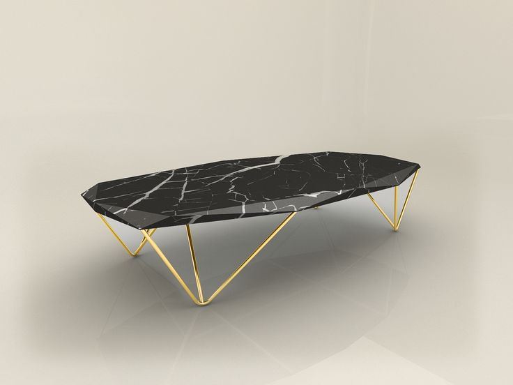 Liquid Marble coffee table by Daniel Zeisner