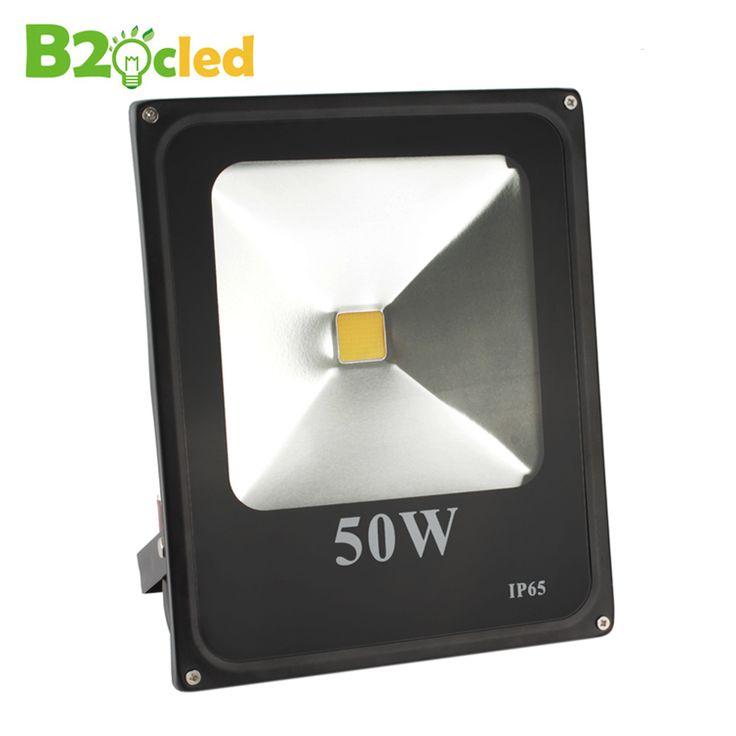 LED flood light 110V 220V ultrathin LED floodlight 10W 20W 30W 50W waterproof IP65 outdoor lighting wall Exterior Cast light