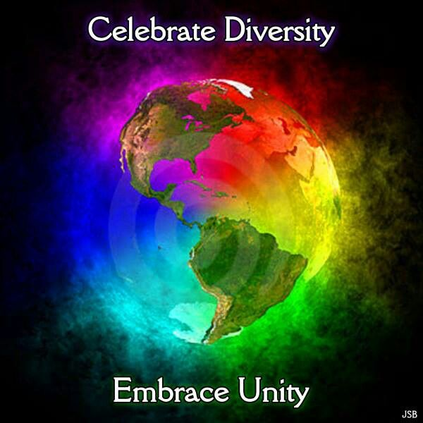 celebrating diversity but working for unity For christians, who believe they are created in the image of god, it is the godhead, diversity in unity and the three-in-oneness of god, which we and all creation reflect.