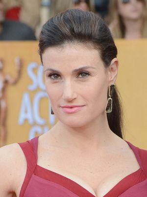 Idina Menzel, I really don't care for her voice.  I may be the only person on earth, but THERE, I said it.