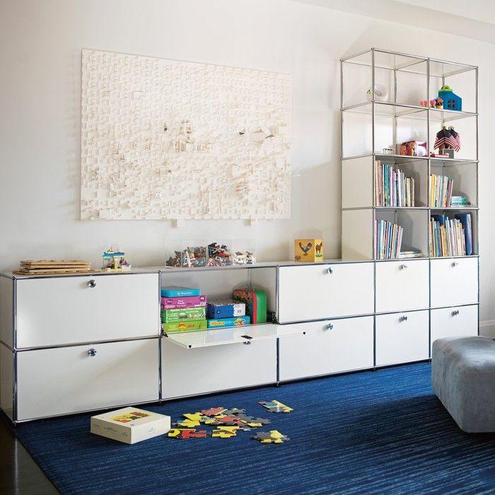 Bringen Sie Abwechslung Ins Spiel. USM Setzt Fröhliche Akzente Im Kinder   Oder Wohnzimmer.