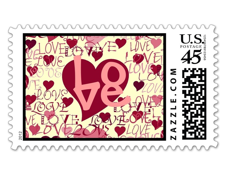 300 best send 1 your love images on pinterest stamps for Post office design your own stamps
