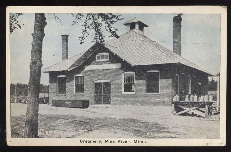 PINE RIVER MN Minnesota c1920 Creamery eBay Pine river