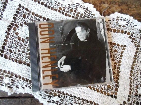 DON HENLEY The End of Innocence CD-Compact Disk-1989 Music-The Last Worthless Evening-The Heart of the Matter-Songs-Orphaned Treasure-111716 by OrphanedTreasure on Etsy
