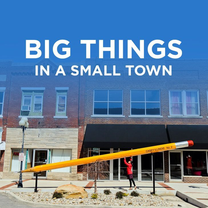 A Collection of the World's Largest Things in Casey Illinois Big Things In A SmallTown // localadventurer.com