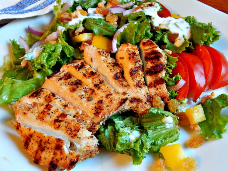 #TheHomeChefIndia Spicy Grilled #chicken #salad  Eat #healthy be #healthy