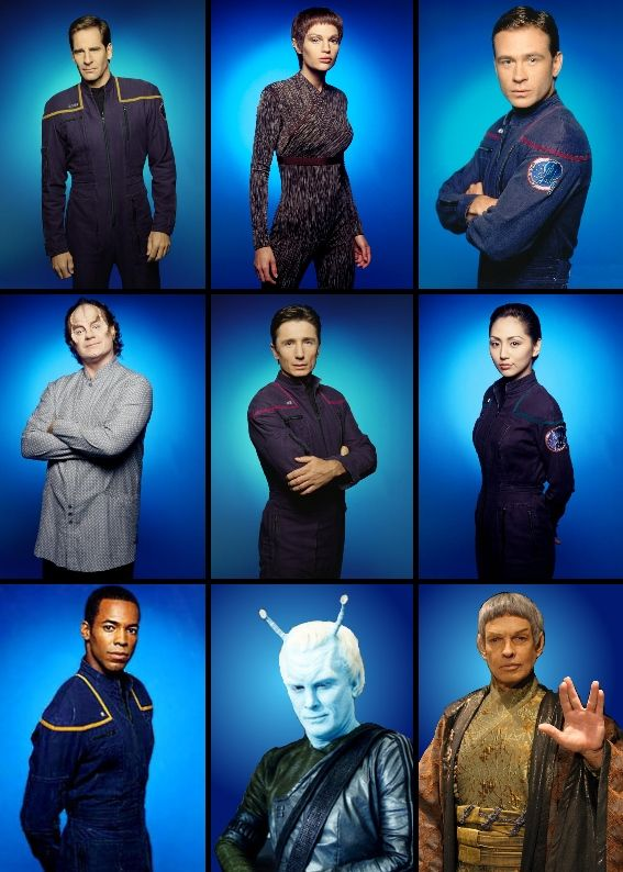 The Enterprise series folks
