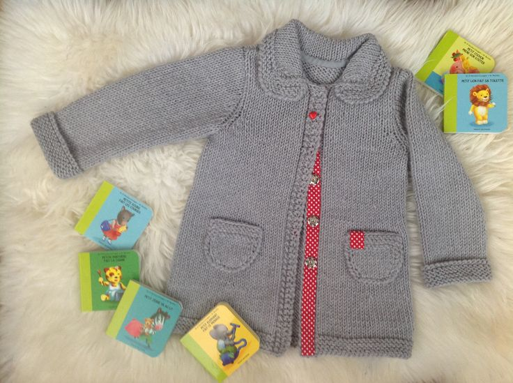 knitted cardigan for girl