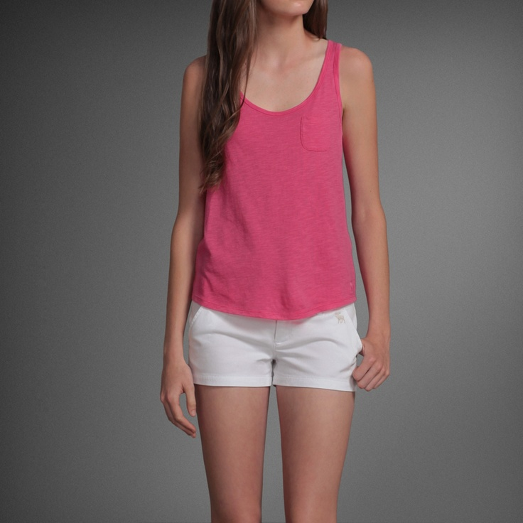 Abercrombie & Fitch - Shop Official Site - Womens - Easy Fit Tops - Meg