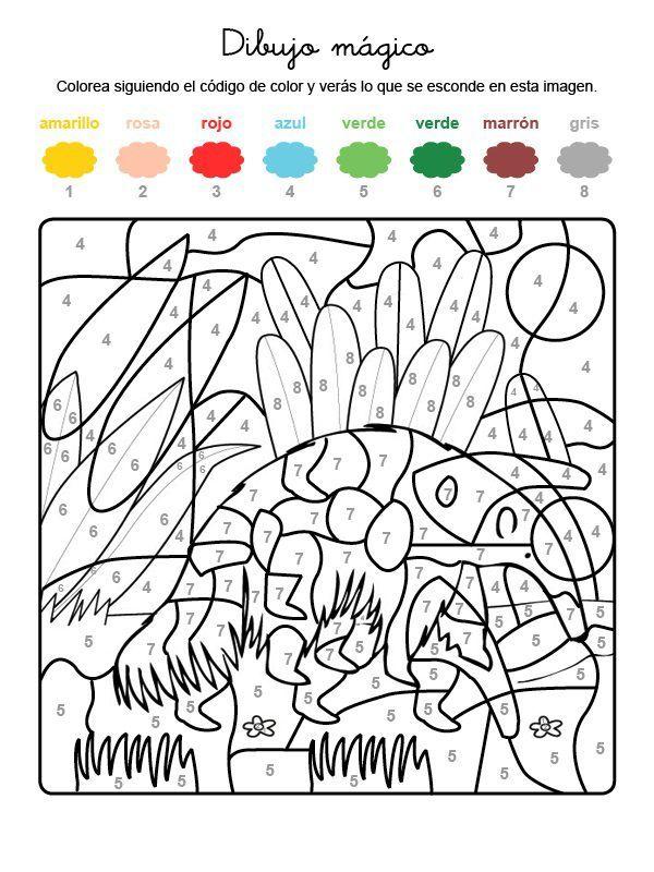 Dibujo Magico De Oso Hormiguero Dibujo Para Colorear E Imprimir Dibujos Para Colorear Imprimir Sobres Animales Para Imprimir
