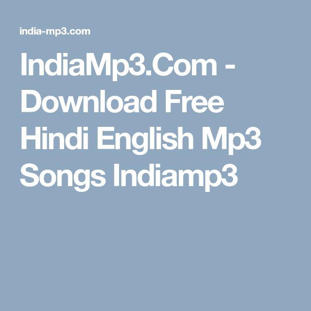 Download Free Hindi English Mp3 Songs