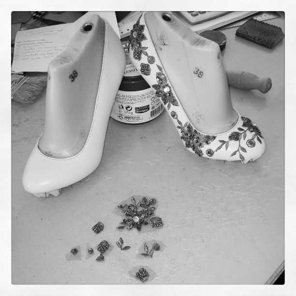 #shoes #flats #ballerina #lace #women #fashion