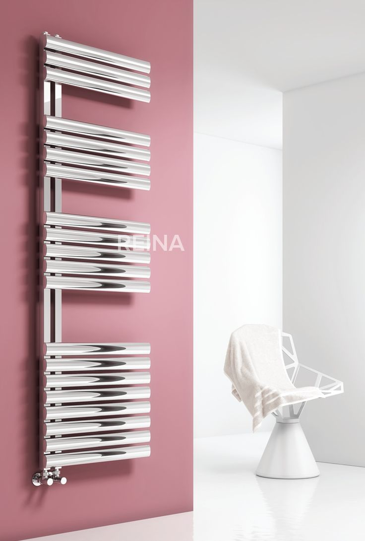 Reina Scalo Stainless Steel Designer heated towel rail. The Illusions collection of Stainless steel radiators from Reina offer the very latest in hand-made modular radiator construction, the most sophisticated finishing and fresh & innovative designs. Available in polished stainless steel only, dual fuel and electric only options available. Complete with a 25 year guarantee. Prices from £342.34!