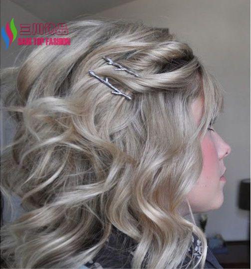 Новое поступление! Модные, элегантные, металлические заколки для волос в виде цветочных бутонов. Свадебные аксессуарыкупить в магазине Sam Top Fashion[min order:$10]наAliExpress